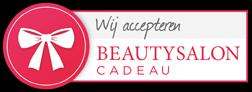 Wij accepteren Beautysalon Cadeaubonnen